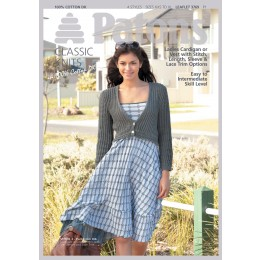 Patons 3769 Ladies cardigan and vest in DK Cotton