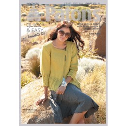 Patons 3772 Ladies wrap vest and jacket in DK