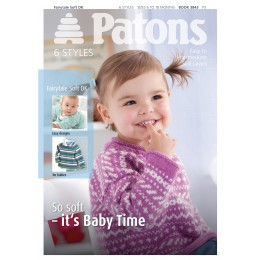Patons 3843 Fairytale Soft DK Booklet
