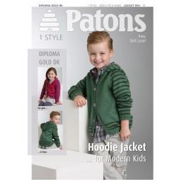 Patons 3911 Diploma Gold DK Hoodie Jacket