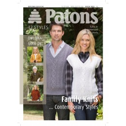 Patons 3923 12 Contemporary Family Knits Booklet