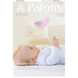 Patons 3962 Fairytale Cloud Nursery Cushion and Toys leaflet