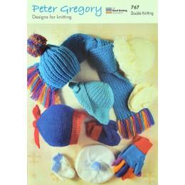 PG767 Children's Hats, Scarves and Gloves DK