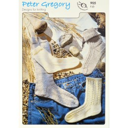 PG905 Adult Socks 4ply
