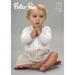 PP1094 Children's Cardigan 4ply