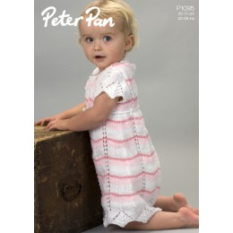 PP1095 Girls Dress 4ply