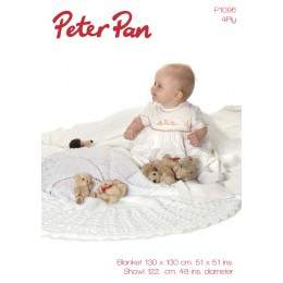 PP1096 Baby Blanket 4ply