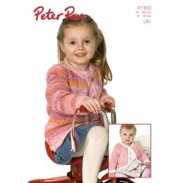 PP1100 Children's Cardigan DK