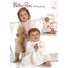 PP1138 Baby Dress 4ply
