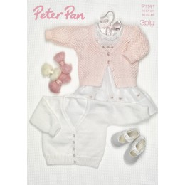 PP1141 Baby Cardigans 3ply