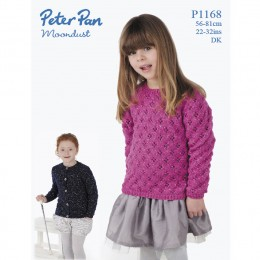 PP1168 Children's Cardigan and Jumper DK