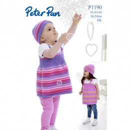 PP1190 Girls Dresses and Hats DK