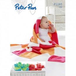 PP1193 Baby Blanket and Booties DK