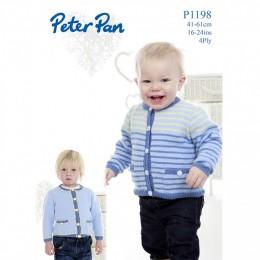 PP1198 Children's Cardigans 4ply