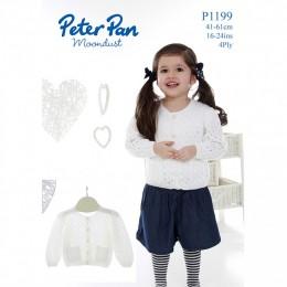 PP1199 Children's Cardigans 4ply
