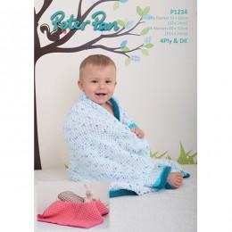 PP1234 Baby Blanket 4ply