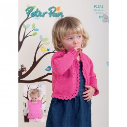 PP1241 Girls Cardigans and Tank Top DK