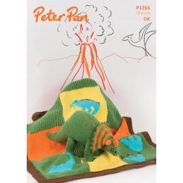 PP1266 Children's Dinosaur and Blanket DK