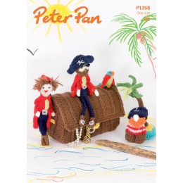 PP1268 Children's Pirate Play Set and Bunting DK