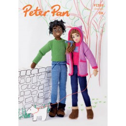 PP1269 Boy and Girl Dolls DK