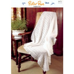 PP873 Baby Blanket 3ply