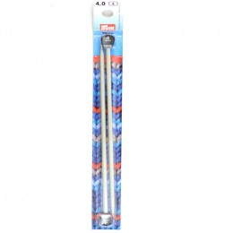 Prym Single-Pointed Knitting Pins alu 25 cm