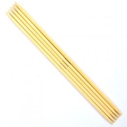 Prym Double-Pointed Knitting Pins Bamboo 20 cm