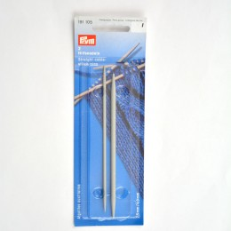 Prym Straight Cable Stitch Pins alu 2.50 + 4.00 mm