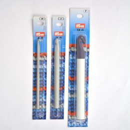 Prym Crochet Hooks for Wool alu 14 cm
