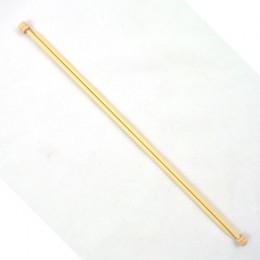 Prym Single-Pointed Knitting Pins Bamboo 33 cm