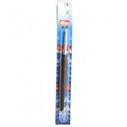 Prym Crochet Hooks for Wool Soft Handle alu 14 cm