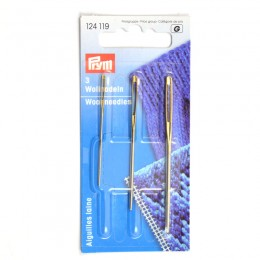 Prym Wool and Tapestry Needles No. 1,3,5 steel