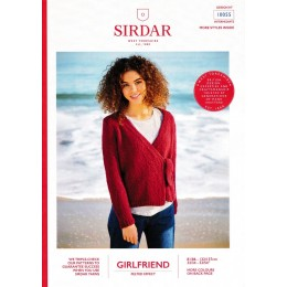 S10055 Ladies Wrap Cardigan in Sirdar Girlfriend