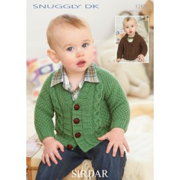 S1265 Babies Cardigans & Jackets in Snuggly DK