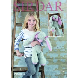 S2470 Rabbit Toy in Sirdar Ophelia