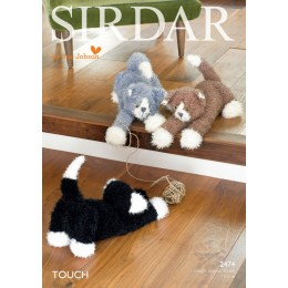 S2474 Cat Toy in Sirdar Touch