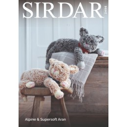 S2496 Cats in Sirdar Alpine & Supersoft Aran