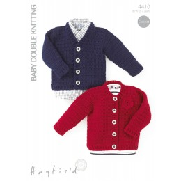 S4410 Cardigans for Little Ones in Hayfield Baby DK