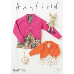 S4682 Bolero's for little ones in Hayfield Baby DK