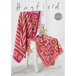 S4683 Blankets in Hayfield Baby DK