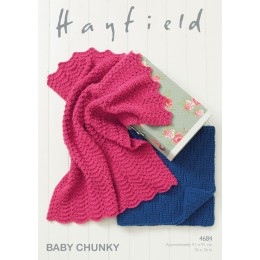 S4684 Blankets in Hayfiled Baby Chunky