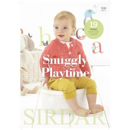 S509 Snuggly Playtime, 19 Designs for Babies and Children in Sirdar Snuggly DK
