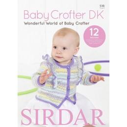 Sirdar Book 518 - Baby Crofter DK - Wonderful World of Baby Crofter