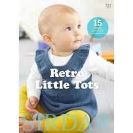 Sirdar Book 521 - Retro Little Tots