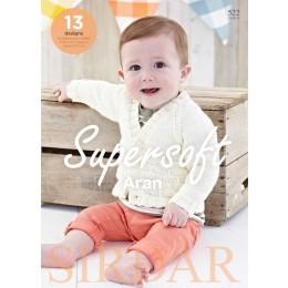 Sirdar Book 522 - Supersoft Aran
