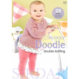 Sirdar Book 524 - Snuggly Doodle Double Knitting