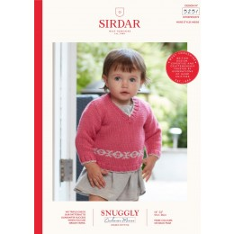 S5251 Sweater & Tank Top in Sirdar Snuggly Cashmere Merino DK