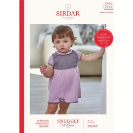 S5266 Dress & Shoes in Sirdar Snuggly 100% Merino 4Ply