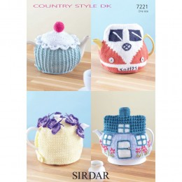 S7221 Tea Cosie in Sirdar Country Style DK