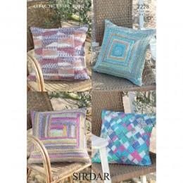 S7228 Cushion Covers in Sirdar Crofter DK